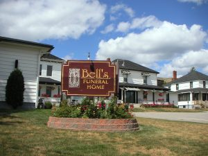 Bell's Funeral Home exterior